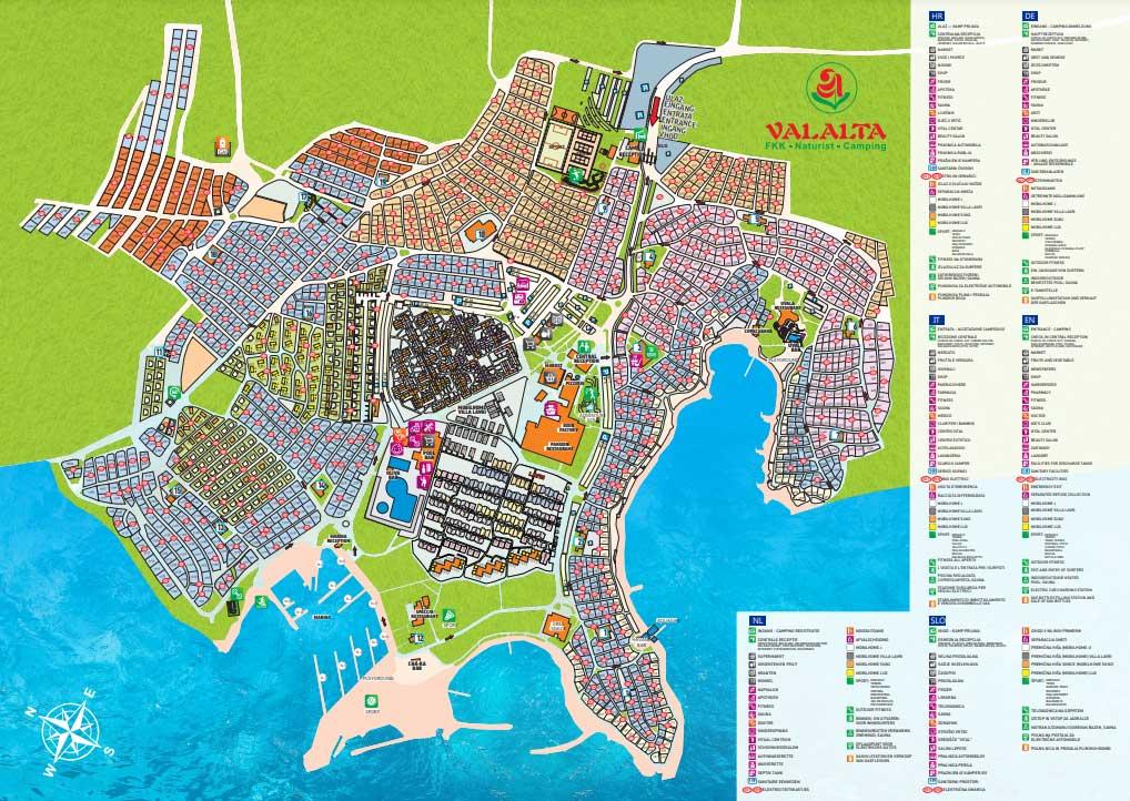 Valalta Map